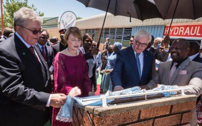 Eröffnung des Berufsbildungsprojekts des VDMA in Botsuana